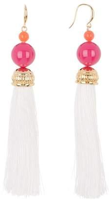 Trina Turk Bead in Bloom Tassel Drop Earrings
