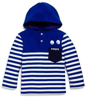 Mini Series Boys' Hooded Monster Henley Shirt, Little Kid - 100% Exclusive