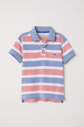 H&M Pique Polo Shirt - Red