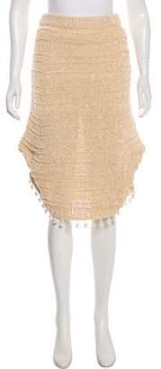 Derek Lam A-Line Knee-Length Skirt w/ Tags Tan A-Line Knee-Length Skirt w/ Tags