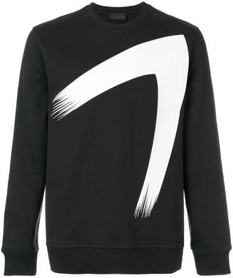 Diesel Black Gold printed crew neck jumper