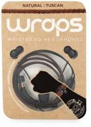 Wraps Natural Wristband Headphones
