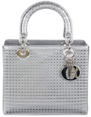 Christian Dior Micro-Cannage Medium Lady Bag