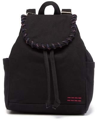 Peace Love World Drawstring Backpack