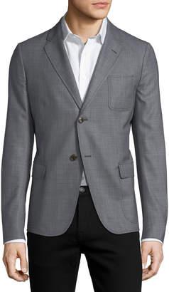 Gucci Textured Dot-Print Sport Coat