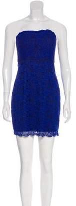 Diane von Furstenberg Lace Cocktail Dress Blue Lace Cocktail Dress