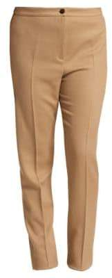 Marina Rinaldi Marina Rinaldi, Plus Size Regolare Stretch Wool-Blend Pants