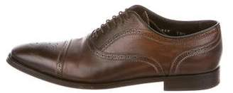 To Boot Leather Cap-Toe Brogues