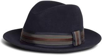 Brooks Brothers Fedora with Ribbon
