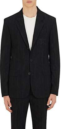 Givenchy Men's Cotton-Blend Jacquard Three-Button Sportcoat