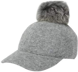 UGG Genuine Shearling Pompom Baseball Hat