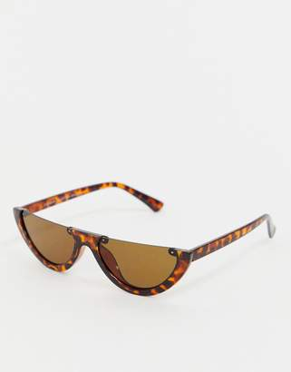 Cat Eye 7X SVNX flat top super slim sunglasses