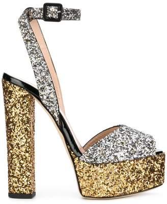 Giuseppe Zanotti Design Lavinia glitter sandals