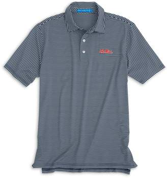 Southern Tide Ole Miss Rebels Striped Polo Shirt