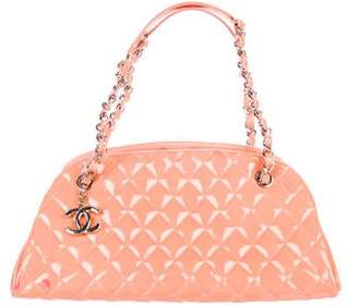 Chanel Just Mademoiselle Medium Bowler Bag