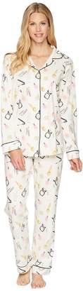 BedHead Long Sleeve Long Pajamas Women's Pajama Sets