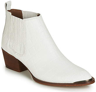 Ikks TIAGS women's Mid Boots in White