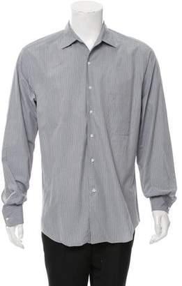 Loro Piana Gingham Button-Up Shirt