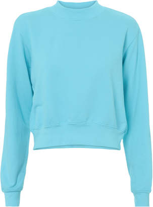 Cotton Citizen Milan Aqua Sweatshirt