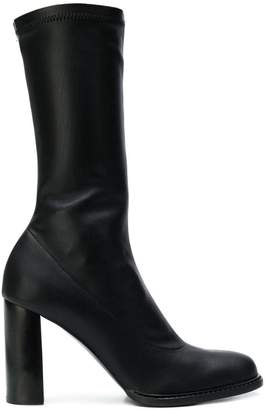 Stella McCartney mid-calf block heel boots