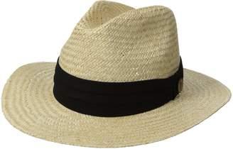 Tommy Bahama Men's Panama Safari Hat with 3 Pleat Cotton Band