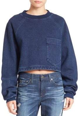 AG Adriano Goldschmied Indigo Capsule Collection by AG Cubo Sweatshirt
