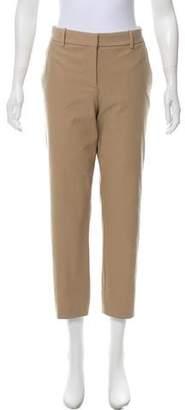 Theory Mid-Rise Straight-Leg Pants w/ Tags