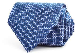 Turnbull & Asser Textured Squares Geometric Neat Classic Tie