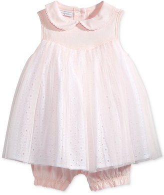 First Impressions Eyelet & Tulle Romper, Baby Girls (0-24 months), Only at Macy's $38 thestylecure.com