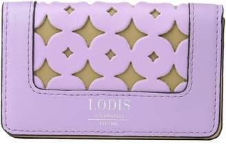 Lodis Laguna Perf RFID Mini Card Case Wallet