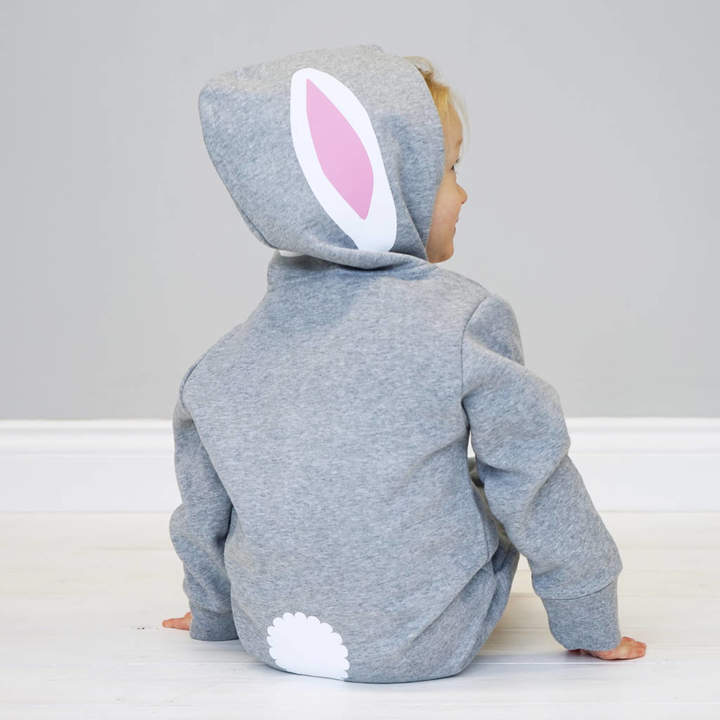 Sparks And Daughters Bunny Rabbit With Ears Children's Onesie