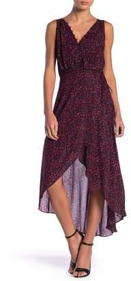 Adelyn Rae Eliza Printed Hi-Lo Hem Dress