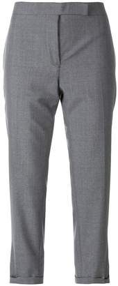 Thom Browne Lowrise Skinny Trouser In School Uniform Plain Weave