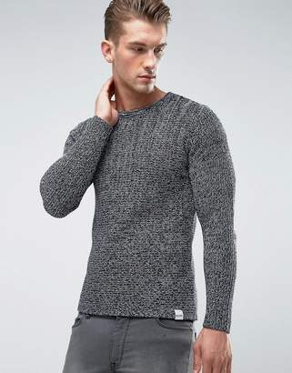 ONLY & SONS Knitted Sweater In Mixed Yarn