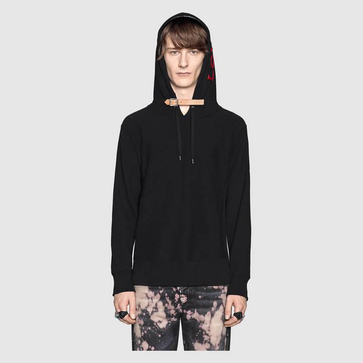 Cotton sweatshirt with appliqués 4