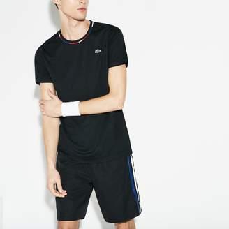 Lacoste Men's SPORT Jacquard Pique Tennis T-Shirt