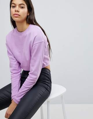 Asos DESIGN Cropped Sweatshirt