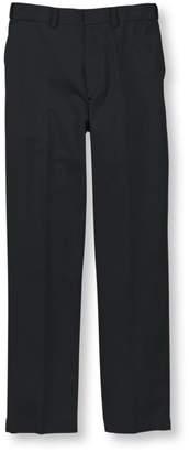 L.L. Bean L.L.Bean Wrinkle-Free Dress Chinos, Natural Fit Hidden Comfort Plain Front