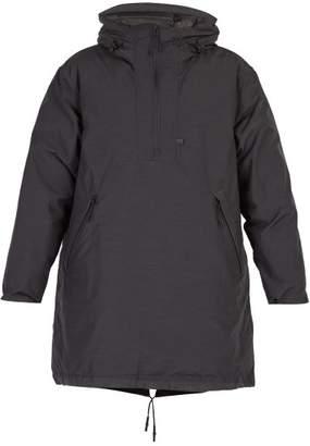 Snow Peak - Hooded Down Filled Pullover Jacket - Mens - Black