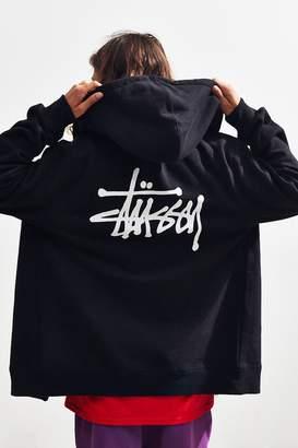 Stussy Basic Full Zip Hoodie Sweatshirt