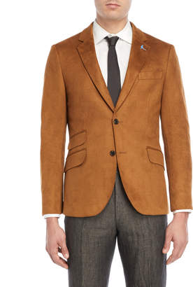 Tailorbyrd Camel Micro Suede Sport Coat
