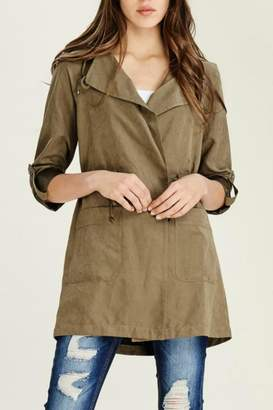 Staccato Hooded Anorak Jacket