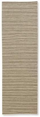 L.L. Bean L.L.Bean Striped Wool Flat-Weave Rug, Runner