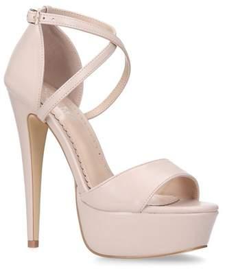 7bf2a0c0f76 at Debenhams · Carvela - Nude  Leap  High Heel Platform Sandals