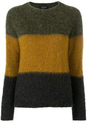 Roberto Collina colour-block jumper