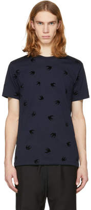 McQ Navy Swallow T-Shirt