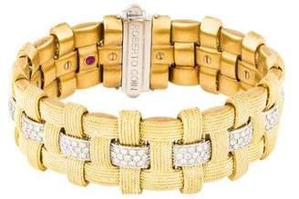 Roberto Coin 18K Diamond Magnifica Link Bracelet