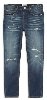 Hudson Boys' Jude Slim-Fit Distressed Jeans - Big Kid