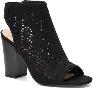 ab9f1ddbf70e Lauren Conrad Statice Women s Cutout Ankle Boots