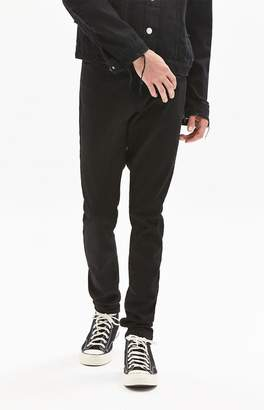 PacSun Stacked Skinny Black Jeans
